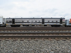 Norfolk Southern Dining Car (codeeightythree) Tags: ns mow norfolksouthern passengercar laporteindiana maintenanceofway norfolksouthernrailroad mp463