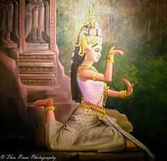 Classical Khmer apsara dancer (kuntheaprum) Tags: simplykhmer khmerart