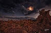 Tufa Night (Riccardo Maria Mantero) Tags: clouds mantero monolake riccardomantero riccardomariamantero deathvalley desert landscape nevada night outdoors sky travel tufa usa