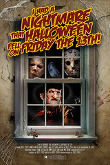 I Had a Nightmare... (Bhold_Designs) Tags: freddy krueger jason vorhees michael myers halloween nightmareonelmstreet fridaythe13th horror scary comedy gothic house window broken mouse spider blood dirty walls nightmare