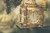 Happy New Year! (charhedman) Tags: happynewyear clock midnight newyearseve golden bokeh 2017 countdowntomidnight missingallofmyflickrfriends