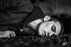 It's Personal (Tim van Zundert) Tags: self portrait depression anxiety borderline personality disorder mental health black white monochrome night evening long exposure bokeh sony a7r sel55f18z zeiss 55mm