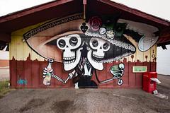 Los Muertos (The Dead) (Dennis Valente) Tags: tacosdejuarez 5dsr lalocota art contemporaryurbanart streetart sw southwestern rooseveltrowartsdistrict hdr valleyofthesun urbanart southwest 2016 spraypaint paint isobracketing arizona phoenix wallart mural rooseveltrow