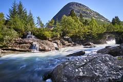 Landscape in Norway (georg19621) Tags: landscape mountains river season summer norwegen