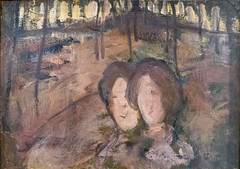 Femmes dans un bois, Piet Mondrian (vers 1907, 1909) (julien `) Tags: art france mauricedenis musee nabis saintgermainenlaye femmesdansunbois pietmondrian 1907 1909