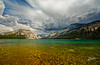 Tenaya Rainbow (Riccardo Maria Mantero) Tags: clouds lake mantero riccardomantero riccardomariamantero blue green landscape outdoors park sky travel usa water yosemite