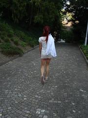 A short dress in the park (faberlatusm - 250'000'000 views) Tags: ass legs miniskirt microskirt shortskirt sexy publicupskirt upskirt teasing flashinpublic flahsing flashing