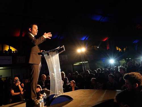 Meeting de Benoit Hamon