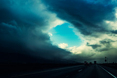 Eye of the Storm (DesmondsPhotos) Tags: clouds sky storm landscape scenery outdoors nature lines vanishingpoint weather sony a7rii california