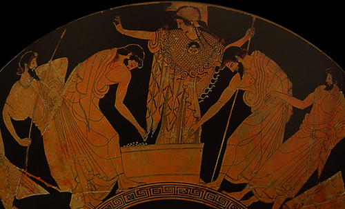 "Petteia - Ludus Latrunculorum  / Iconografía de las civilizaciones helenolatinas • <a style=""font-size:0.8em;"" href=""http://www.flickr.com/photos/30735181@N00/31678497754/"" target=""_blank"">View on Flickr</a>"