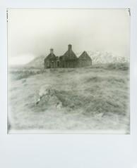 Lubnaclach (Mark Rowell) Tags: lubnaclach rannochmoor corrour scotland polaroid sx70 instant impossibleproject film