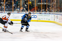 "Missouri Mavericks vs. Wichita Thunder, January 7, 2017, Silverstein Eye Centers Arena, Independence, Missouri.  Photo: John Howe / Howe Creative Photography • <a style=""font-size:0.8em;"" href=""http://www.flickr.com/photos/134016632@N02/31872453770/"" target=""_blank"">View on Flickr</a>"