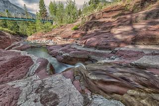 Red Rock Canyon, Waterton Lakes NP, Alberta