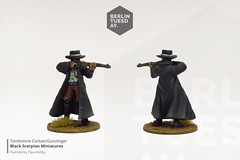 Civilian Gunslinger / Tombstone / Black Scorpion Miniatures (berlintuesday) Tags: wargames wargame wargaming tabletop battle painted painting miniatures berlintuesday oldwest western gunslinger gunfighter civilian oldtimer cowboys tombstone models modelpainting painter commission