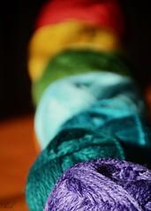 Week 1:  Beginnings (blamstur) Tags: 52weekproject 52week yarn colorful week1 project52