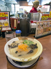 らーめん亀王 (acase1968) Tags: osaka kiou ramen kio female staff nikon d600 nikkor 24120mm f4g foodie near castle al case