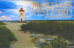 29 venicesunrise (Rocky's Postcards) Tags: lighthouse edgartown marthas vineyard dunes sand newengland venicesunrise postcard light