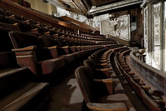 The Upper Level (95wombat) Tags: old decrepit decayed rotted forlorn timeworn victory theater holyoke massachusetts