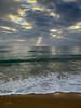 Rays 1 (caralan393) Tags: clouds rays beach vert phone ocean