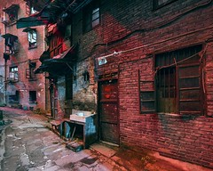 Old Chongqing, Study 3 (maciej.leszczynski) Tags: chongqing china cityscape city citylights neon asia urban exploration slums nightscape