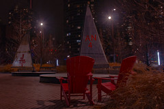 'Leeward Fleet' by RAW, Canada Square, Harbourfront Centre (A Great Capture) Tags: wintertime ice breakers queens quay harbourfront centre to canada square sailboat masts city downtown lights urban night dark nighttime cold weather agreatcapture agc wwwagreatcapturecom adjm ash2276 ashleylduffus ald mobilejay jamesmitchell toronto on ontario canadian photographer northamerica torontoexplore winter l'hiver 2017 colours colors colourful colorful cityscape urbanscape eos digital dslr sky himmel streetphotography streetscape street calle streetart the waterfront business improvement area wbia park