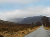 Slioch(3,215ft) and Beinn a'Mhuinidh (2270ft), near Kinlochewe, Highlands of Scotland, Jan 2017 (allanmaciver) Tags: slioch scotland highlands kinlochewe moor peat mountain road route narrow allanmaciver