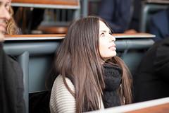 Anna Schiraldi, Polimoda's Alumni Relations Coordinator, attending Polimoda Rendez-Vous with Glen Matlock and Keanan Duffty (Polimoda) Tags: sexpistols punk glenmatlock keananduffty polimodarendezvous guestlecture guestspeaker fashion music education
