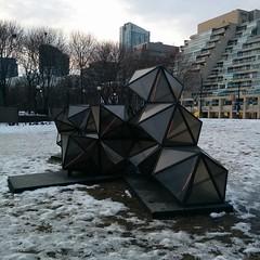 Winter Diamonds, by Platant (randyfmcdonald) Tags: toronto icebreakers publicart harbourfront
