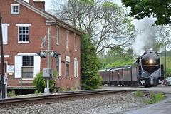 DSC_0289 (Andy961) Tags: delaplane virginia va railway railroad train norfolkwestern nw classj steam locomotive engine 484 611