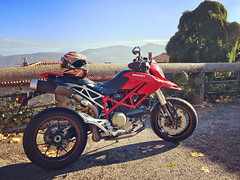 Probably the last ride in 2016 (Cloud hiker) Tags: ducati hypermotard motorbike