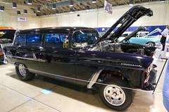 1955 Chevy Gasser (bballchico) Tags: 1955 chevrolet stationwagon gasser dragcar gnrs2017 carshow randymanning retroness