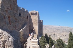 Medieval gate of the Acropolis (Alexanyan) Tags: greece greek rhodes rodos lindos old city fortress hellas hellenic grecia grece griechland հունաստան ελλαδα