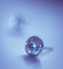 blue dreams (t1ggr) Tags: stilllife blue bokeh macro closeup earring dof softtones pastel