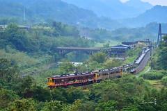 Ping Xi Railway Line,New Taipei,Taiwan (Jennifer 真泥佛) Tags: 平溪線 火車 十分 望古車站 新北市 railway 列車