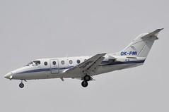 OK-PMI (LIAM J McMANUS - Manchester Airport Photostream) Tags: okpmi bizz queenair beechcraft 400a beechjet be40 bj40 beechjet400 manchester man egcc