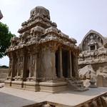 Tempel der Pancha Ratha Gruppe, Mamallapuram (Indien)