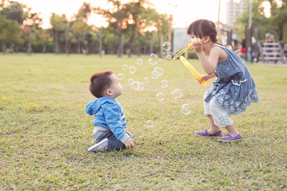 寶寶兒童週歲親子攝影全家福