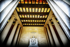2664-DC-LINCOLN- (Michael William Thomas) Tags: history mike museum architecture photography washingtondc smithsonian photo dc washington photographer lincoln lincolnmemorial obama brutalism mikethomas michaelthomas mtphoto michaelwthomas