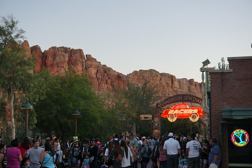 "Radiator Springs Racers Entrance • <a style=""font-size:0.8em;"" href=""http://www.flickr.com/photos/28558260@N04/20501841158/"" target=""_blank"">View on Flickr</a>"