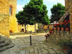 Montichiello, Il Borgo, The Ancient village (michele masiero) Tags: italia siena toscana valdorcia montichiello fotosketcher