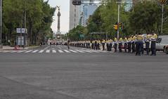 Approaching protesters (stevebfotos) Tags: people mexico mexicocity protest police policia distritofederal coloniajuárez piic mexicocityphotowalk