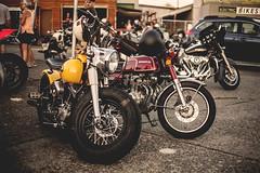Backfire Moto (SidTitus) Tags: sunset two canon honda photography cafe chopper wheels helmet harley motorcycle yamaha dope ducati pnw jdm bobber