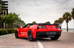 Exclusive Motoring Chevrolet Corvette Z06 (Exclusive Motoring) Tags: auto road chevrolet car miami stingray niche wheels custom corvette exclusive doral z06 motoring