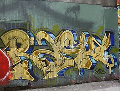 Rask (cocabeenslinky) Tags: street city urban streetart canada west art vancouver writing lumix photography gold graffiti downtown artist photos letters august columbia can spray panasonic coastal british graff seaport artiste municipality 2015 rask dmcg6 cocabeenslinky