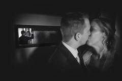 Wedding (siebe ) Tags: wedding blackandwhite holland reflection monochrome dutch groom mirror bride kiss couple room spiegel marriage indoor kus trouwen 2015 bruidspaar bruid trouwfoto trouwreportage bruidsfoto siebebaardafotografie wwweenfotograafgezochtnl