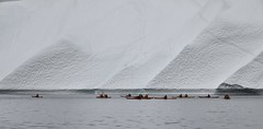 (deepeast creations) Tags: ocean canon kayak outdoor glacier kayaking greenland iceberg