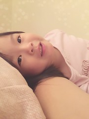 Morning (Zorie Huang) Tags: morning girl smile kid child inbed taiwanese tender zorie