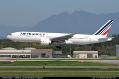 Air France B772 FGSPD ($and$man) Tags: france vancouver airplane aircraft air landing boeing yvr 777 cyvr skyteam