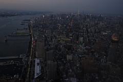 the view from the top 003 (workinpana) Tags: nyc newyork manhattan worldtradecenter hudsonriver wtc freedomtower oneworldobservatory