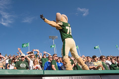 Homecoming at Colorado State University (ColoradoStateUniversity) Tags: football games homecoming